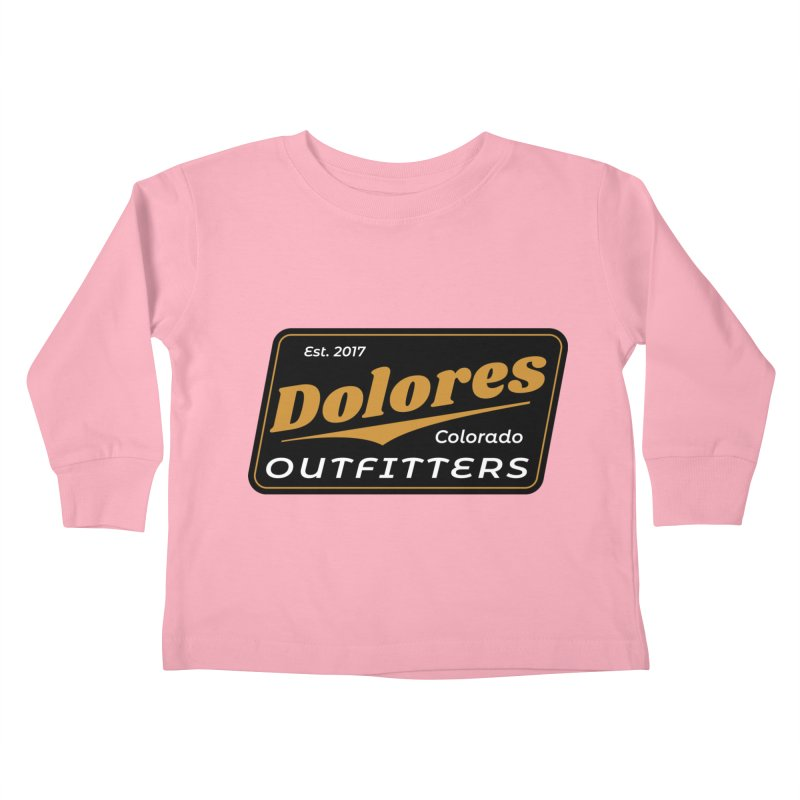 Dolores Outfitters Beer Logo Kids Toddler Longsleeve T-Shirt by dolores outfitters's Artist Shop