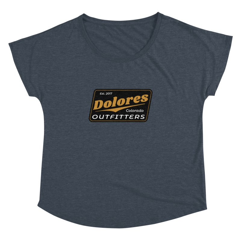 Dolores Outfitters Beer Logo Women's Dolman Scoop Neck by dolores outfitters's Artist Shop