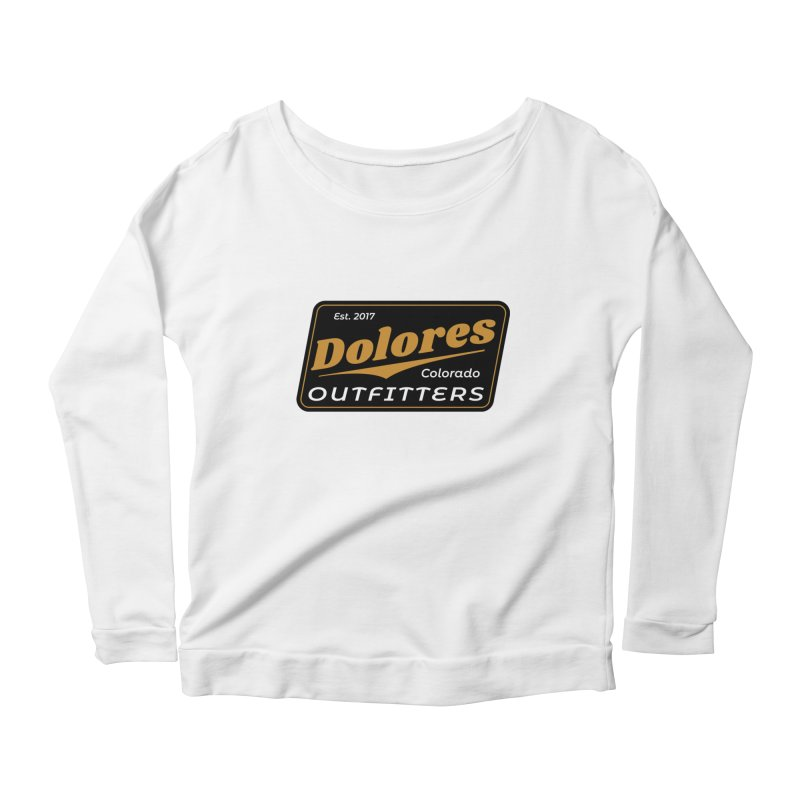 Dolores Outfitters Beer Logo Women's Scoop Neck Longsleeve T-Shirt by dolores outfitters's Artist Shop