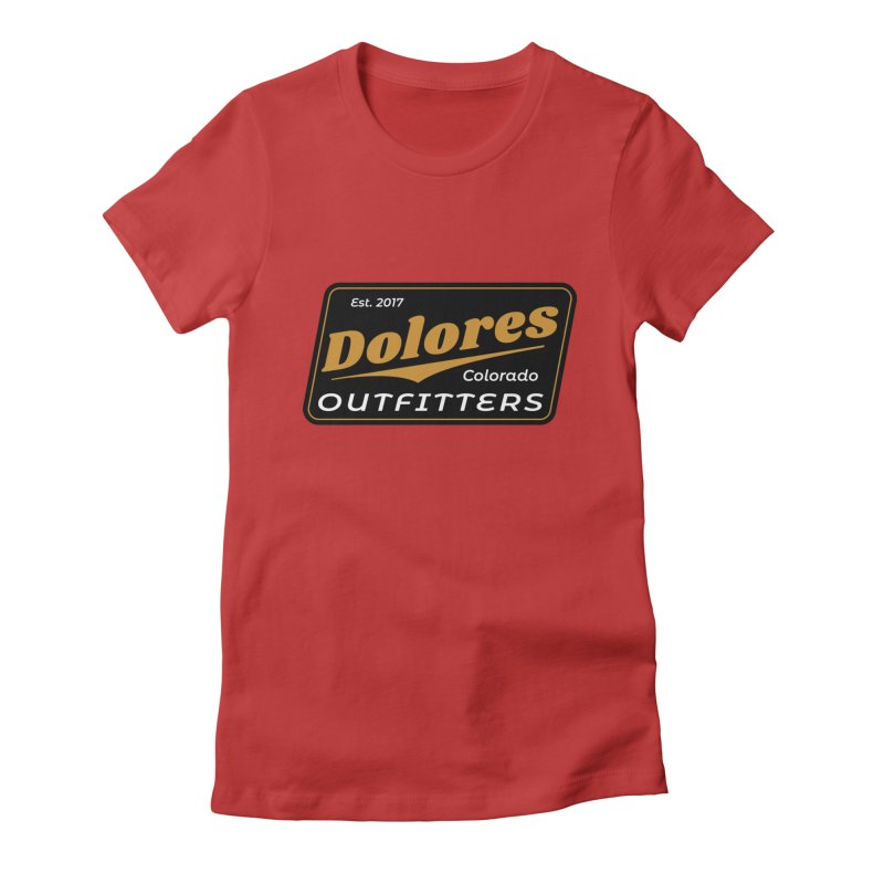 Dolores Outfitters Beer Logo Women's Fitted T-Shirt by dolores outfitters's Artist Shop