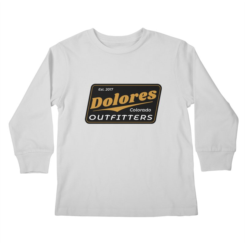 Dolores Outfitters Beer Logo Kids Longsleeve T-Shirt by dolores outfitters's Artist Shop