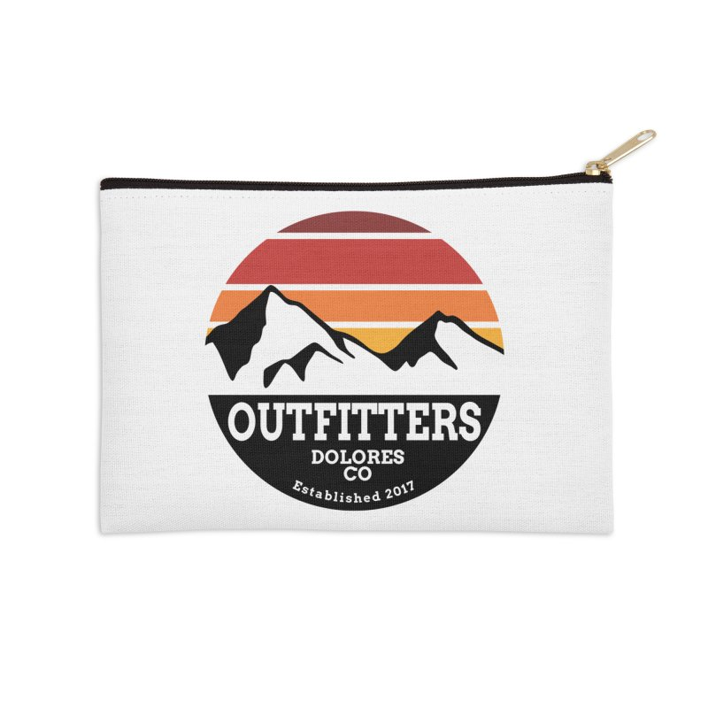 Dolores Outfitters Sunset Logo Accessories Zip Pouch by dolores outfitters's Artist Shop