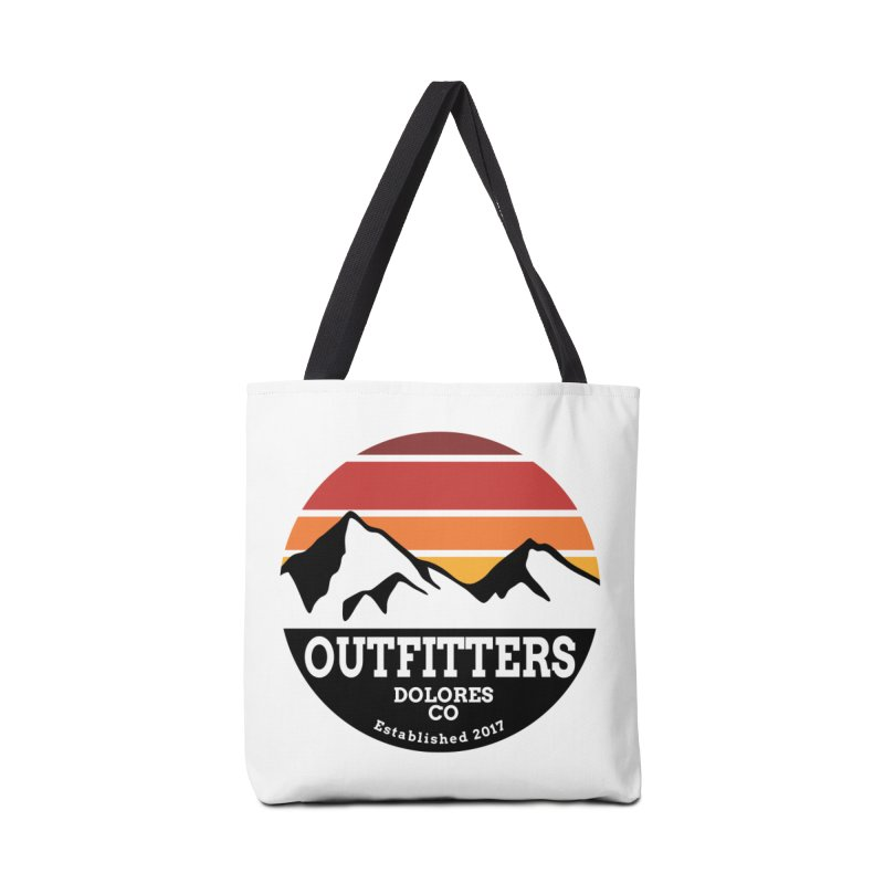 Dolores Outfitters Sunset Logo Accessories Tote Bag Bag by dolores outfitters's Artist Shop