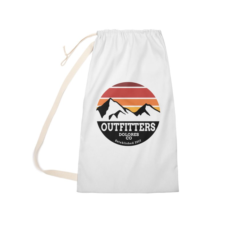 Dolores Outfitters Sunset Logo Accessories Laundry Bag Bag by dolores outfitters's Artist Shop