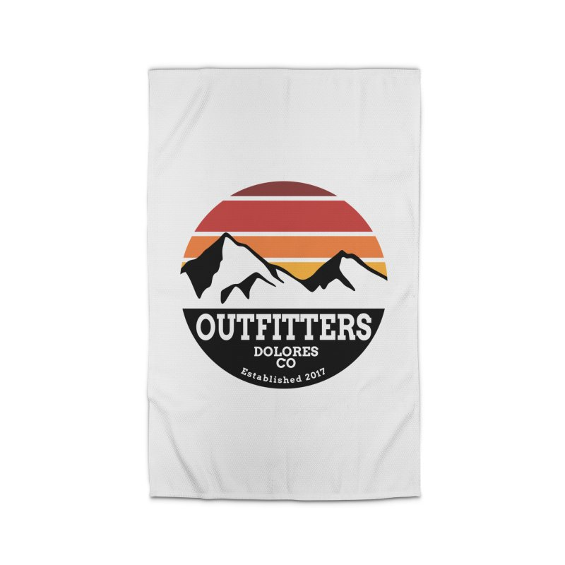 Dolores Outfitters Sunset Logo Home Rug by dolores outfitters's Artist Shop
