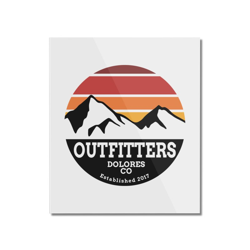 Dolores Outfitters Sunset Logo Home Mounted Acrylic Print by dolores outfitters's Artist Shop