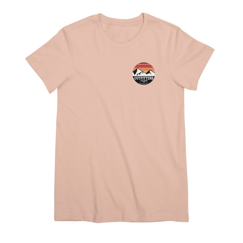 Dolores Outfitters Sunset Logo Women's Premium T-Shirt by dolores outfitters's Artist Shop
