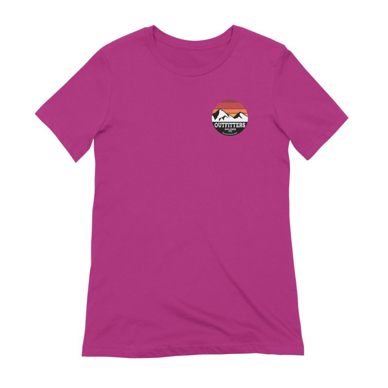 Dolores Outfitters Sunset Logo Women's Extra Soft T-Shirt by dolores outfitters's Artist Shop