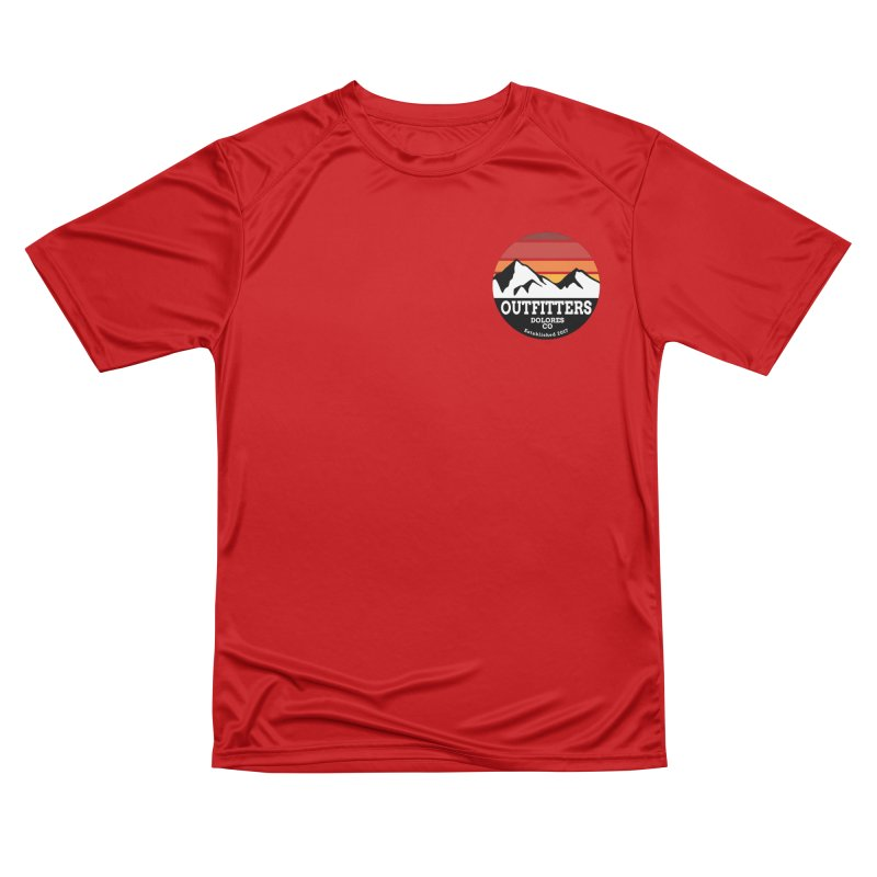 Dolores Outfitters Sunset Logo Women's Performance Unisex T-Shirt by dolores outfitters's Artist Shop