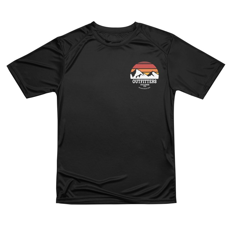 Dolores Outfitters Sunset Logo Men's Performance T-Shirt by dolores outfitters's Artist Shop