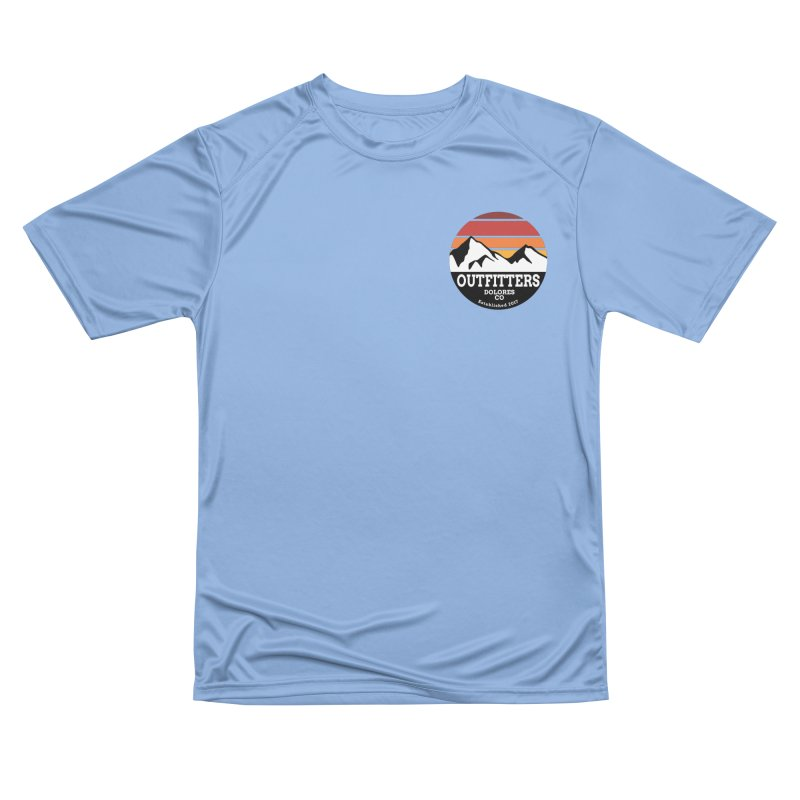 Dolores Outfitters Sunset Logo Men's T-Shirt by dolores outfitters's Artist Shop
