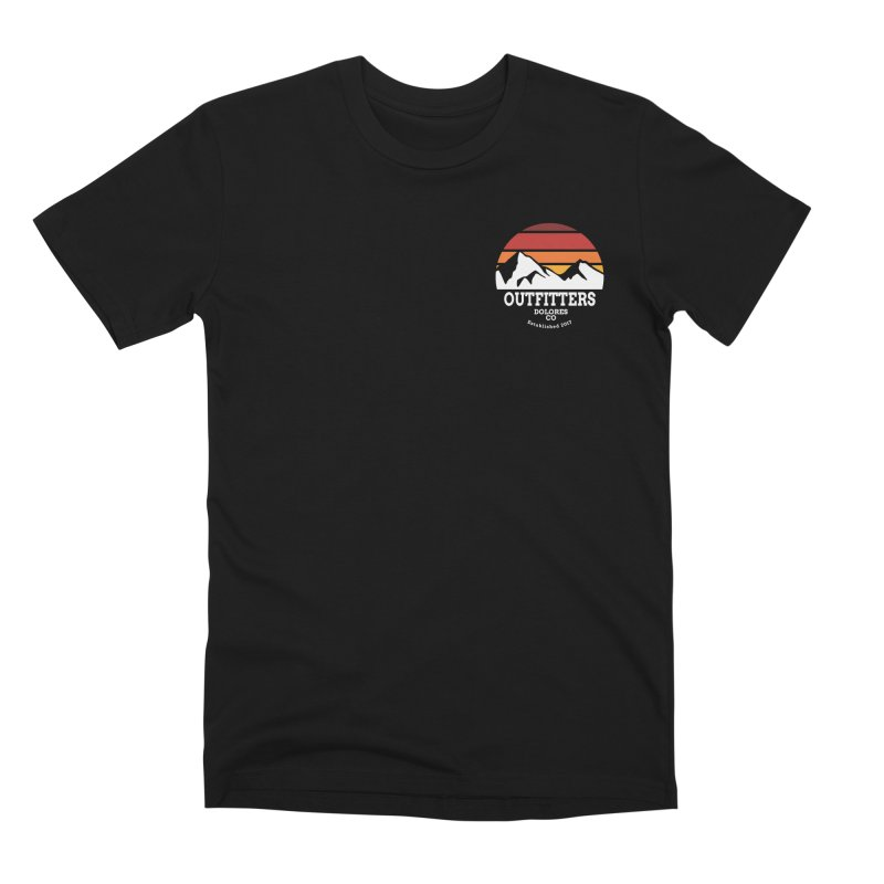 Dolores Outfitters Sunset Logo Men's Premium T-Shirt by dolores outfitters's Artist Shop