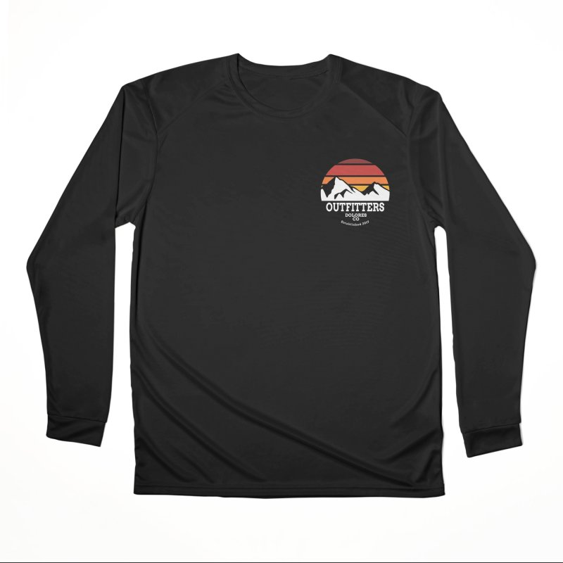 Dolores Outfitters Sunset Logo Women's Performance Unisex Longsleeve T-Shirt by dolores outfitters's Artist Shop