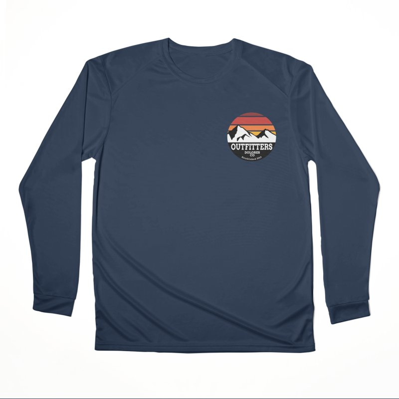 Dolores Outfitters Sunset Logo Men's Performance Longsleeve T-Shirt by dolores outfitters's Artist Shop