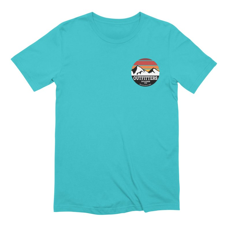Dolores Outfitters Sunset Logo Men's Extra Soft T-Shirt by dolores outfitters's Artist Shop
