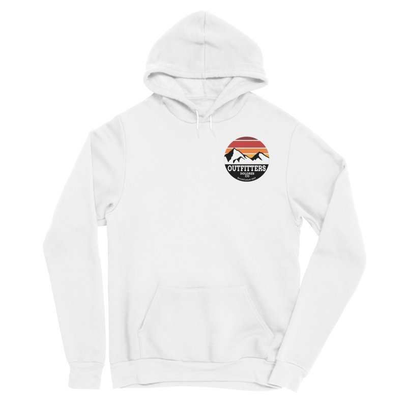 Dolores Outfitters Sunset Logo Men's Sponge Fleece Pullover Hoody by dolores outfitters's Artist Shop