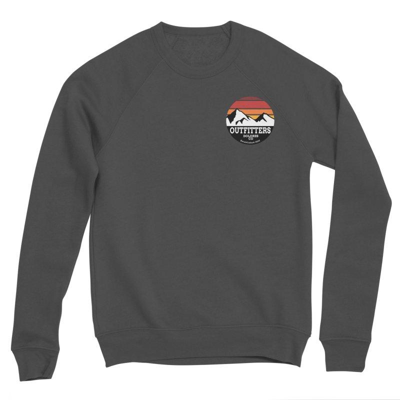 Dolores Outfitters Sunset Logo Men's Sponge Fleece Sweatshirt by dolores outfitters's Artist Shop
