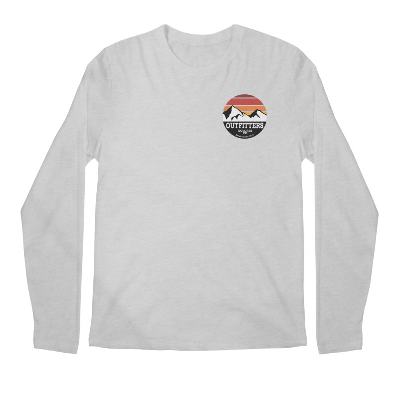 Dolores Outfitters Sunset Logo Men's Regular Longsleeve T-Shirt by dolores outfitters's Artist Shop