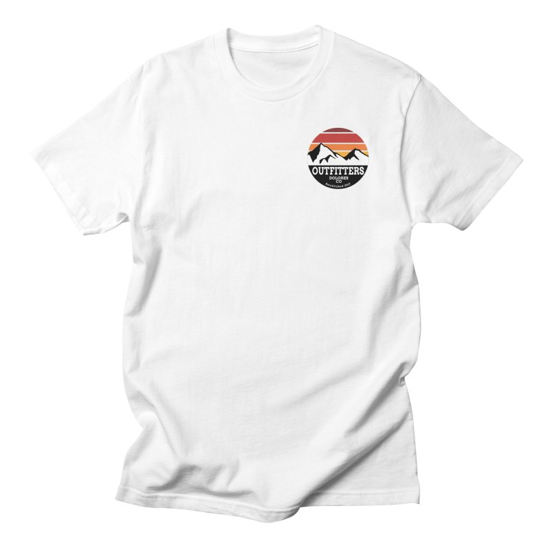 Dolores Outfitters Sunset Logo Women's Regular Unisex T-Shirt by dolores outfitters's Artist Shop