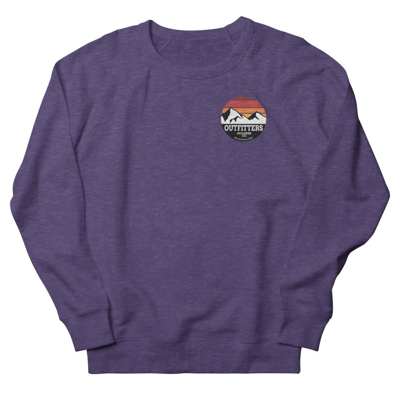 Dolores Outfitters Sunset Logo Men's French Terry Sweatshirt by dolores outfitters's Artist Shop