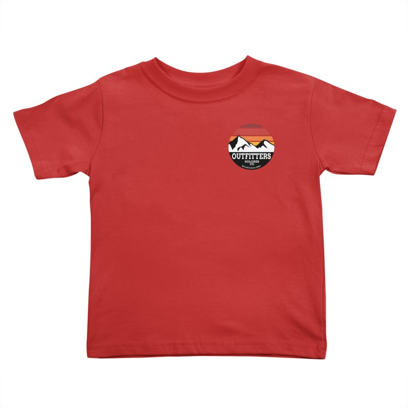 Dolores Outfitters Sunset Logo Kids Toddler T-Shirt by dolores outfitters's Artist Shop