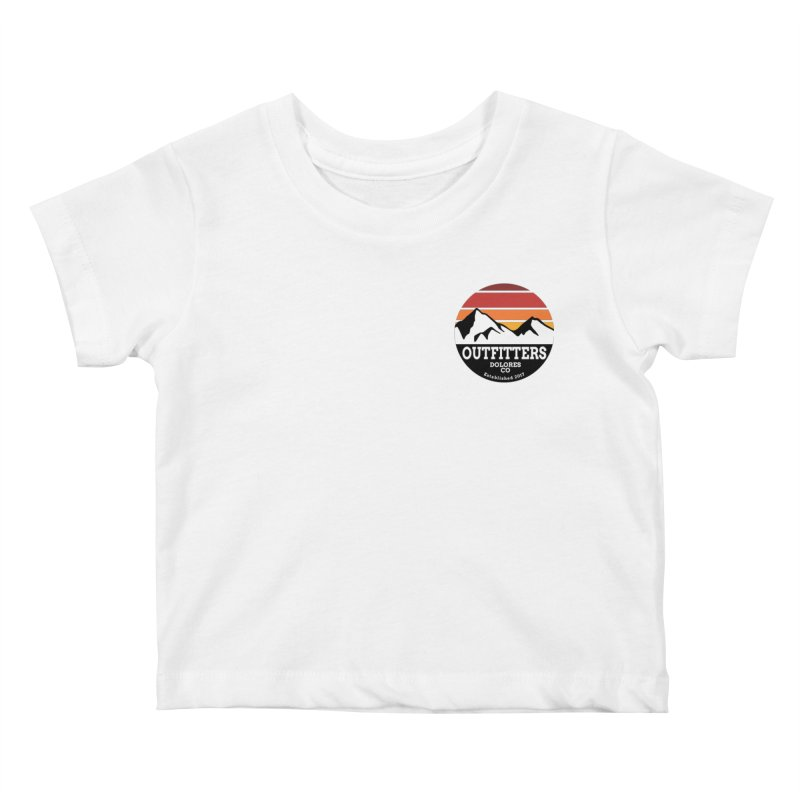 Dolores Outfitters Sunset Logo Kids Baby T-Shirt by dolores outfitters's Artist Shop