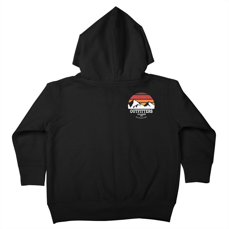 Dolores Outfitters Sunset Logo Kids Toddler Zip-Up Hoody by dolores outfitters's Artist Shop