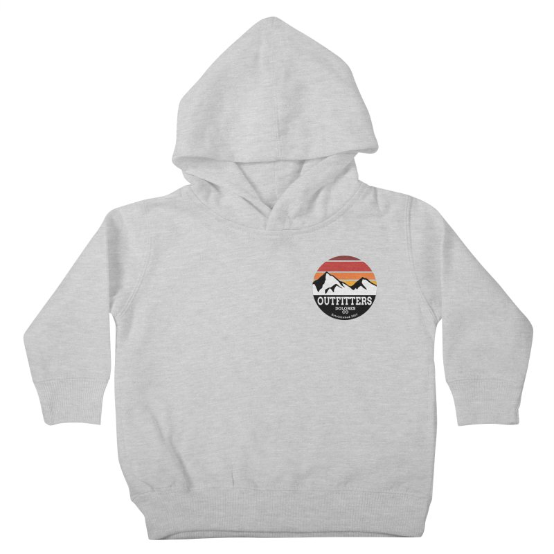 Dolores Outfitters Sunset Logo Kids Toddler Pullover Hoody by dolores outfitters's Artist Shop