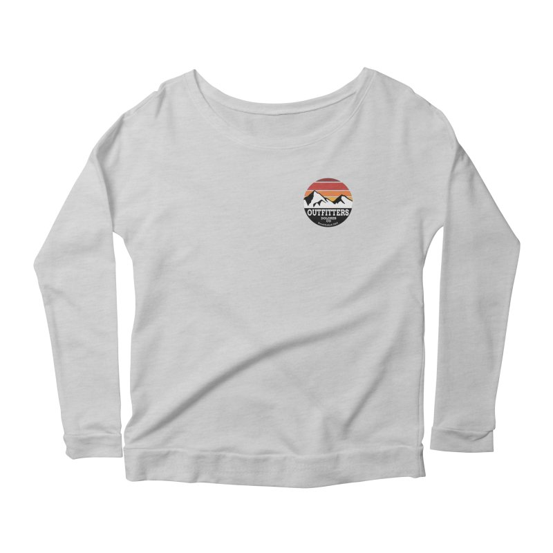 Dolores Outfitters Sunset Logo Women's Scoop Neck Longsleeve T-Shirt by dolores outfitters's Artist Shop