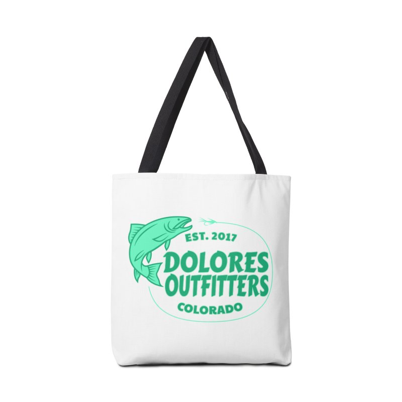Outfitters Fly Fish Accessories Bag by dolores outfitters's Artist Shop