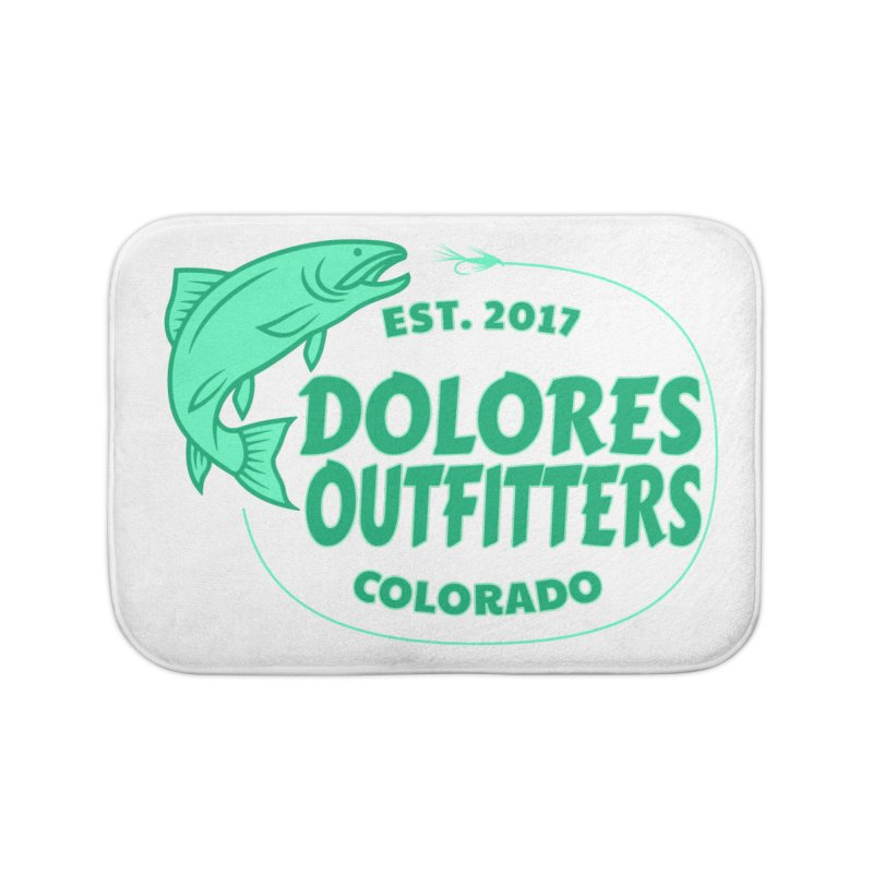 Outfitters Fly Fish Home Bath Mat by dolores outfitters's Artist Shop