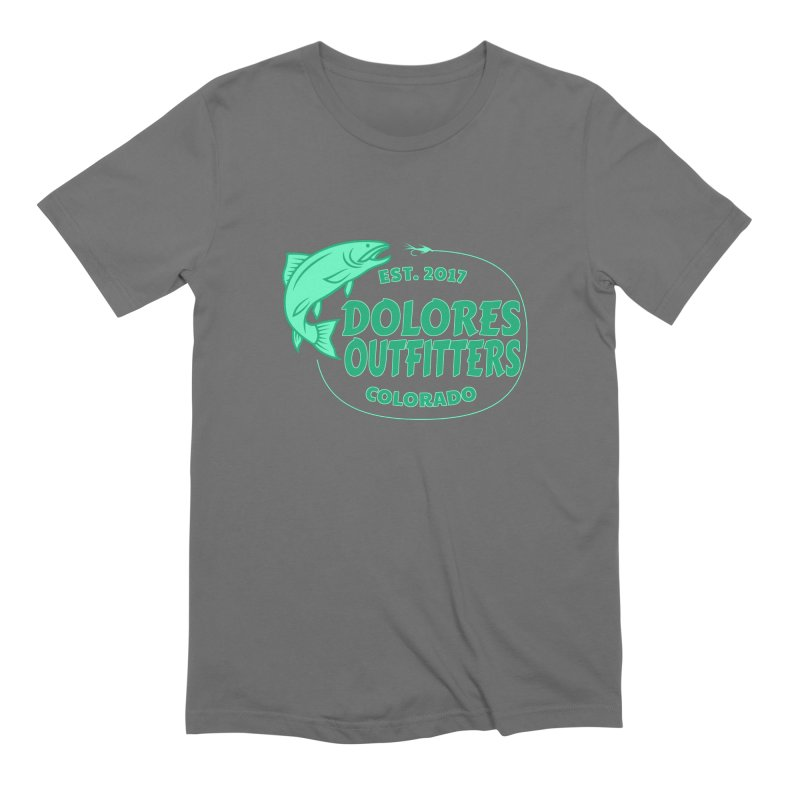 Outfitters Fly Fish Men's T-Shirt by dolores outfitters's Artist Shop