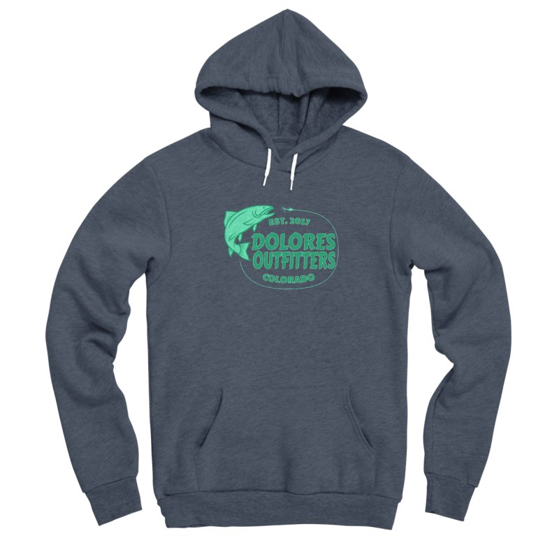 Outfitters Fly Fish Men's Pullover Hoody by dolores outfitters's Artist Shop