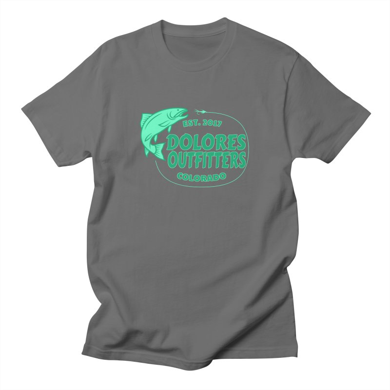 Outfitters Fly Fish Women's T-Shirt by dolores outfitters's Artist Shop