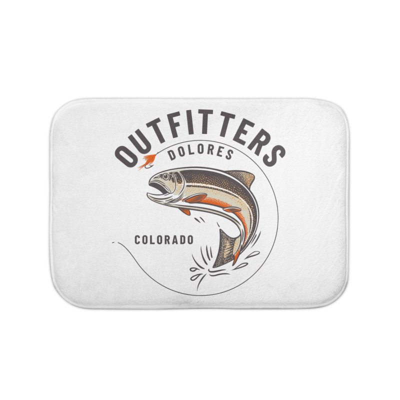 Outfitters Fly Home Bath Mat by dolores outfitters's Artist Shop