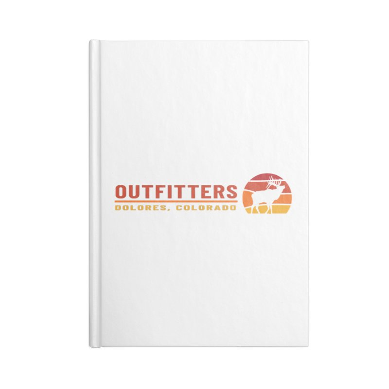 Sunset Elk Accessories Notebook by dolores outfitters's Artist Shop