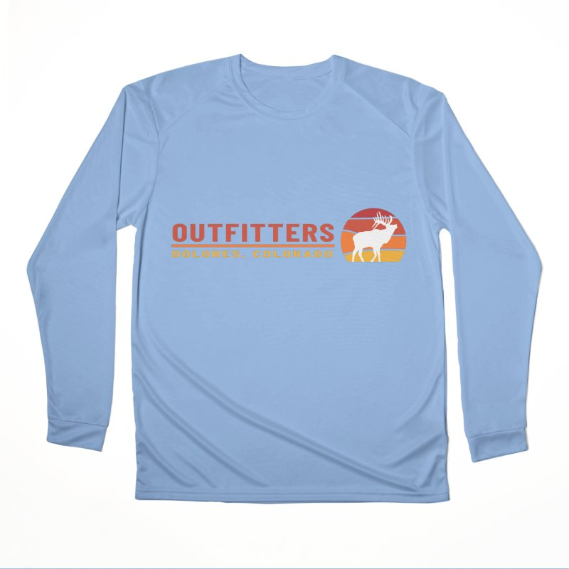 Sunset Elk Men's Longsleeve T-Shirt by dolores outfitters's Artist Shop