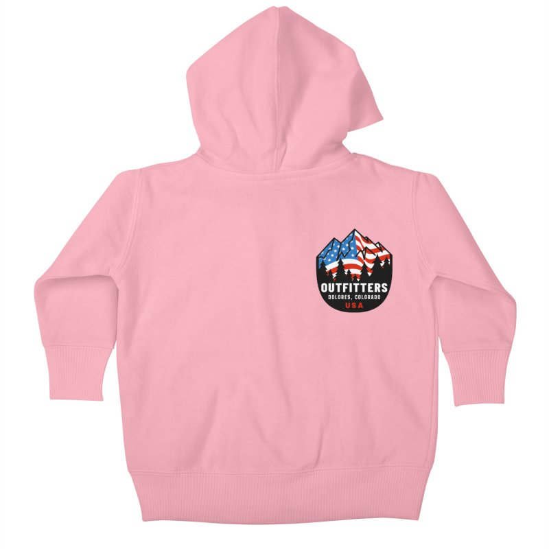 'Merica Kids Baby Zip-Up Hoody by dolores outfitters's Artist Shop