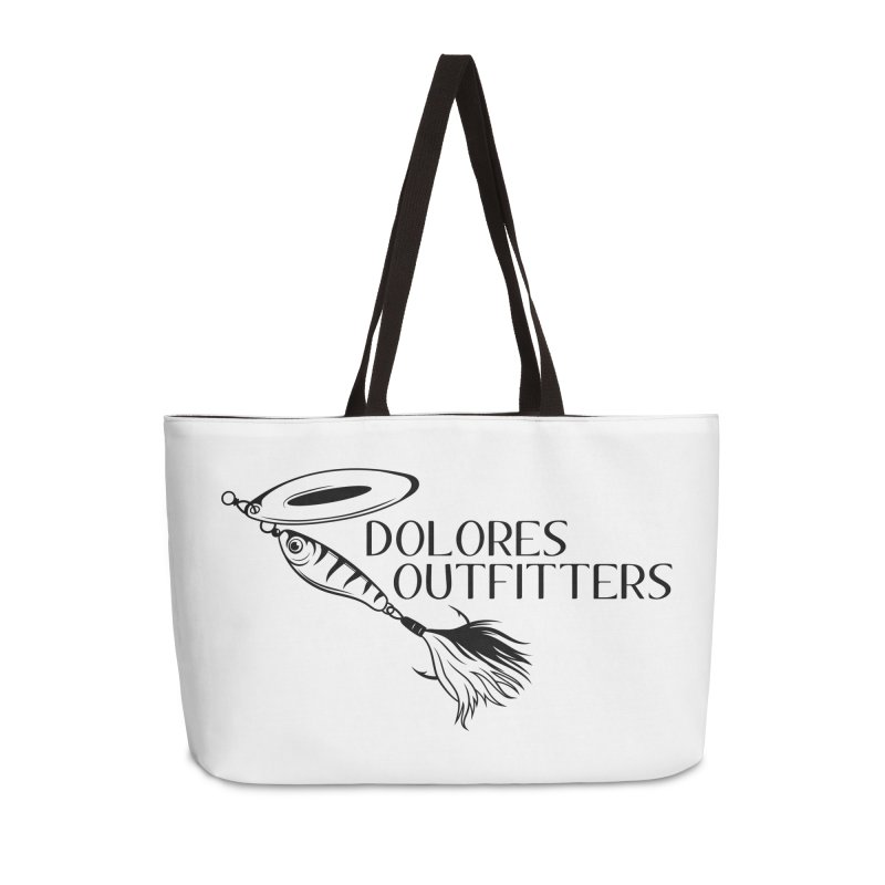 Dolores Outfitters Lure Logo Accessories Bag by dolores outfitters's Artist Shop
