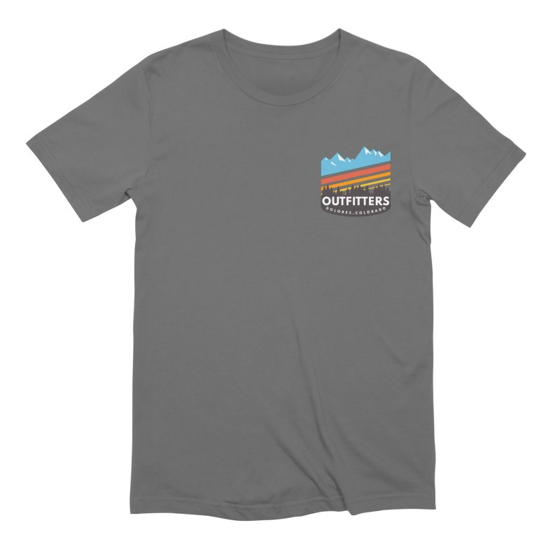 Outfitters Snow Days Men's T-Shirt by dolores outfitters's Artist Shop