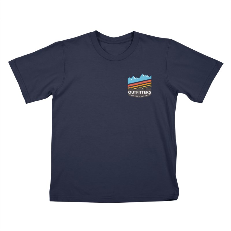 Outfitters Snow Days Kids T-Shirt by dolores outfitters's Artist Shop