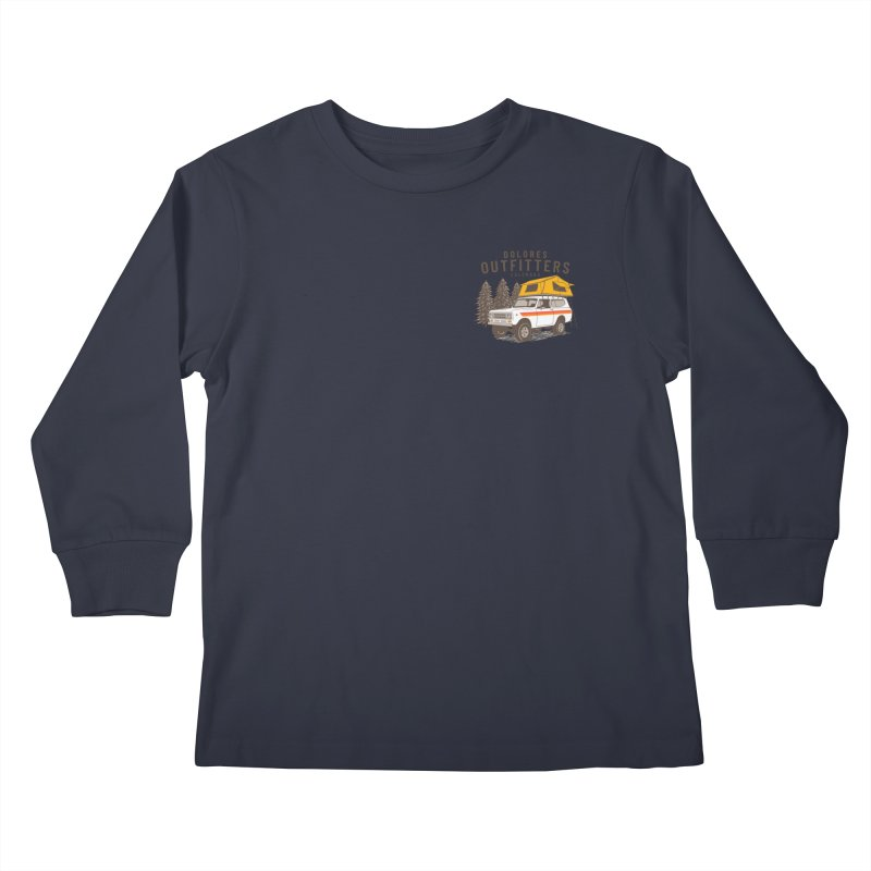 Outfitters Overland Kids Longsleeve T-Shirt by dolores outfitters's Artist Shop