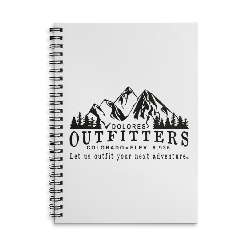 Dolores Outfitters Logo Accessories Lined Spiral Notebook by dolores outfitters's Artist Shop
