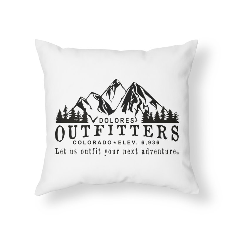 Dolores Outfitters Logo Home Throw Pillow by dolores outfitters's Artist Shop