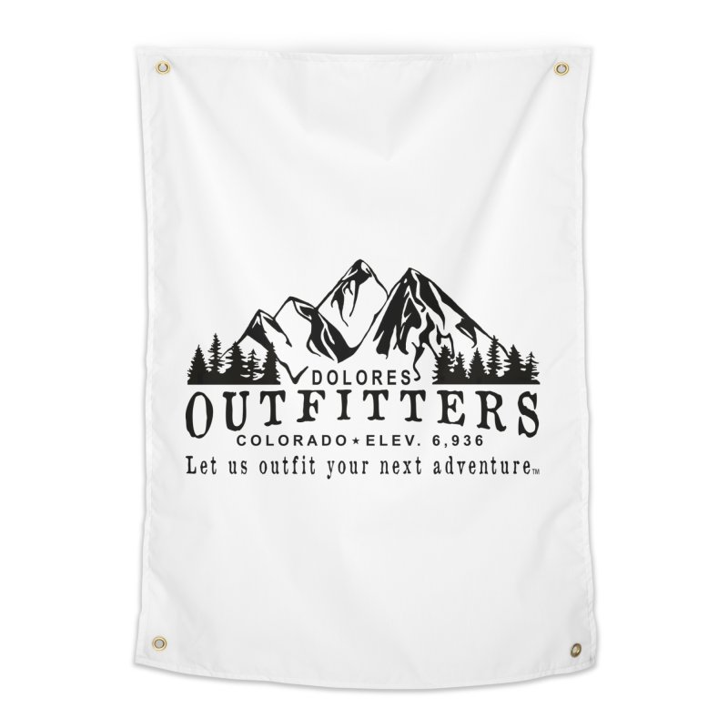 Dolores Outfitters Logo Home Tapestry by dolores outfitters's Artist Shop