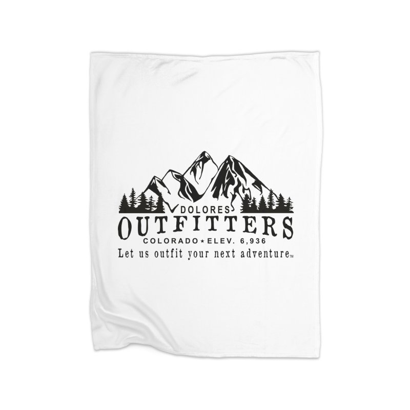Dolores Outfitters Logo Home Fleece Blanket Blanket by dolores outfitters's Artist Shop