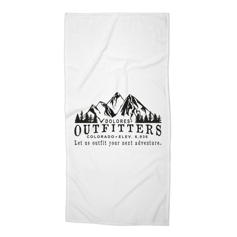 Dolores Outfitters Logo Accessories Beach Towel by dolores outfitters's Artist Shop