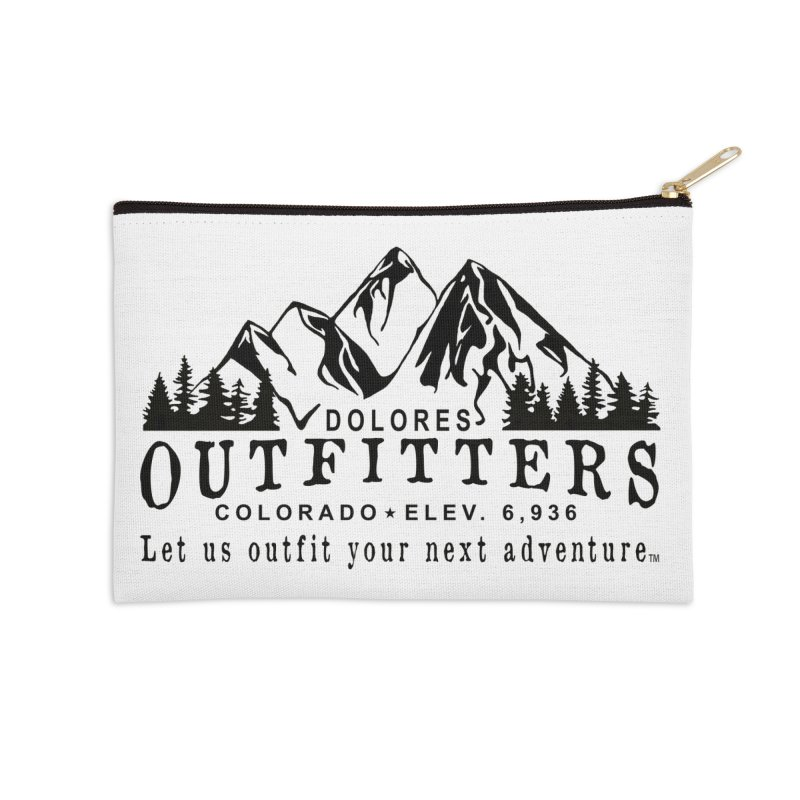 Dolores Outfitters Logo Accessories Zip Pouch by dolores outfitters's Artist Shop