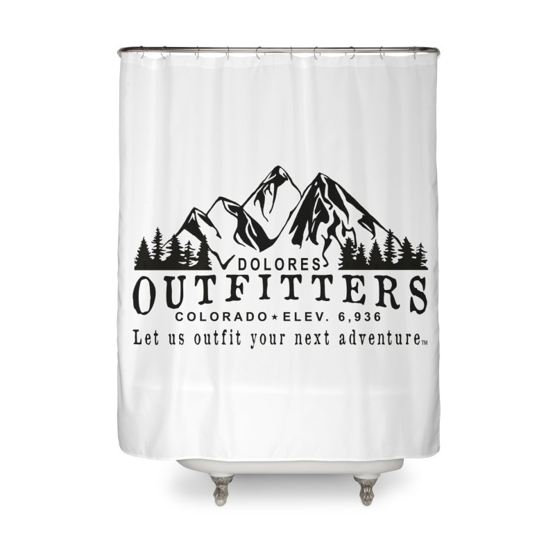 Dolores Outfitters Logo Home Shower Curtain by dolores outfitters's Artist Shop