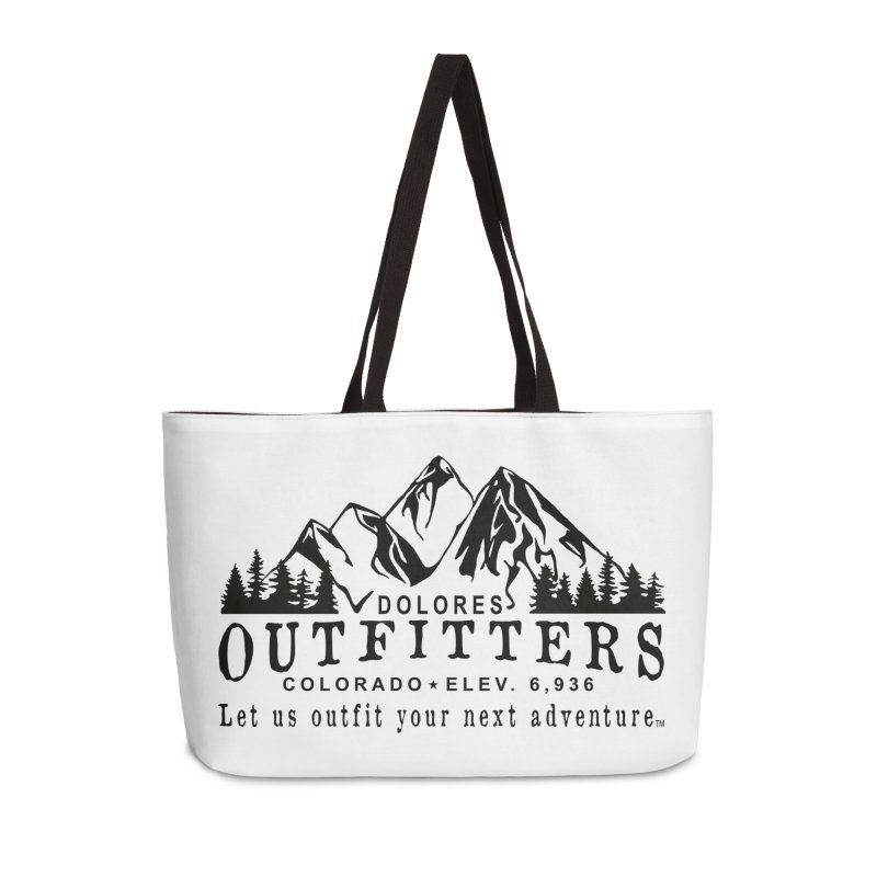 Dolores Outfitters Logo Accessories Weekender Bag Bag by dolores outfitters's Artist Shop